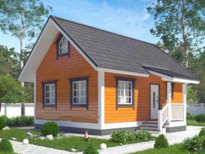 Важные подробности при строительстве каркасного дома 6*8