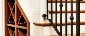 кладовка под ступенями
