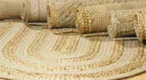Экологический коврик из джута