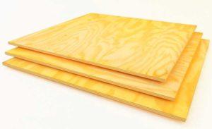 Листы фанеры - недорогой материал с рядом преимуществ
