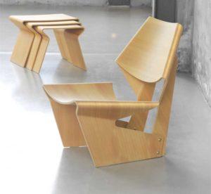 Мебель из согнутой фанеры
