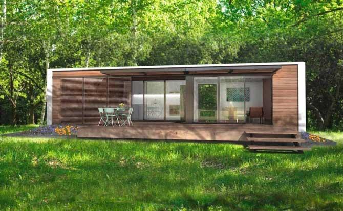 Модульный дом для круглогодичного проживания