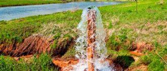 артезианская вода на участке