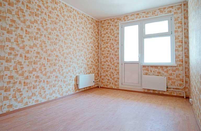 Декорирование стен комнаты обоями