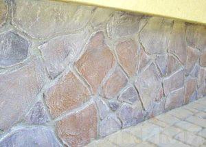 Декорация под камень