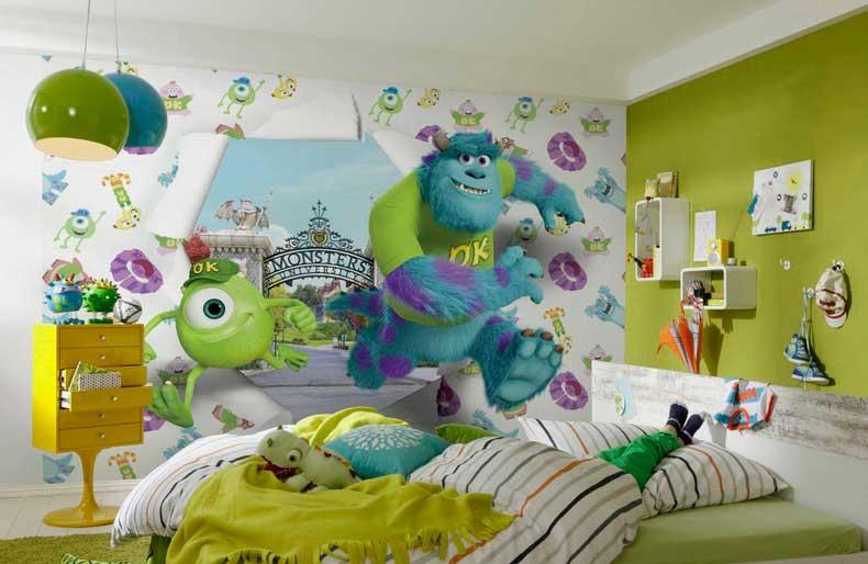 3d фотообои для детской комнаты