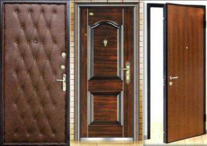 Виды отделки дверей