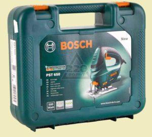 Электрический лобзик BOSCH PST650 с кейсом