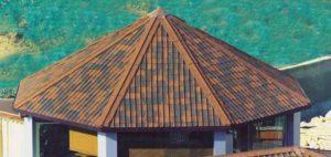 Шпиль крыши из ондулина