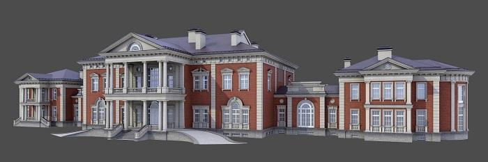 Модель дома в АнглКС