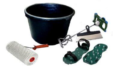 Инструменты для работы с наливным полом