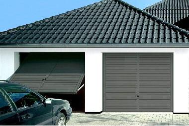 Дом два входа роллставни и подъемные ворота