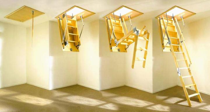 4 позиции складывающейся лестницы