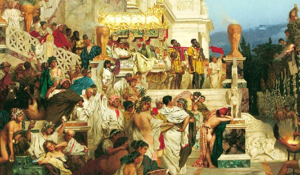 Картина про древних римлян