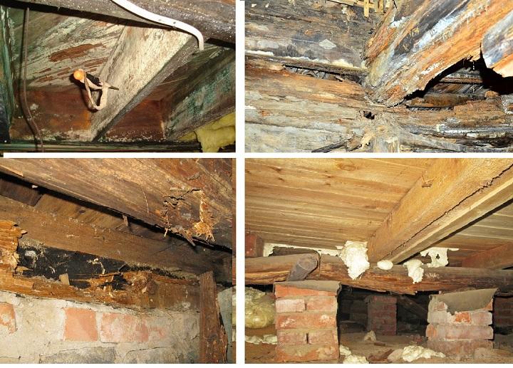 Последствия плохой вентиляции деревянного дома