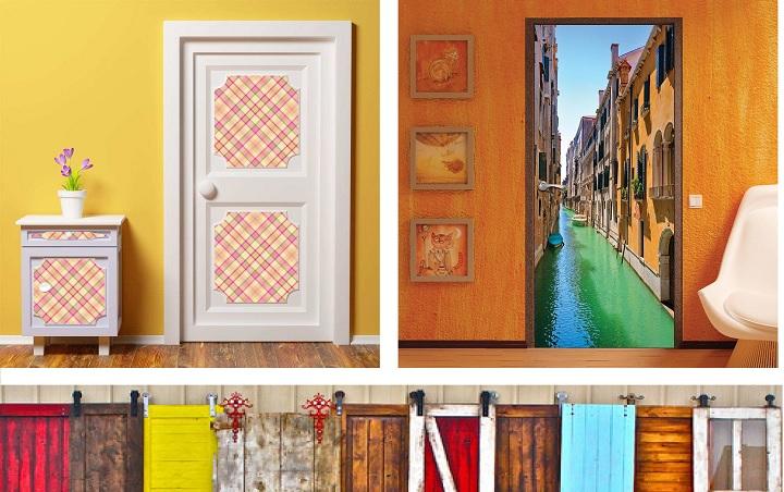 Варианты самостоятельного декорирования дверей