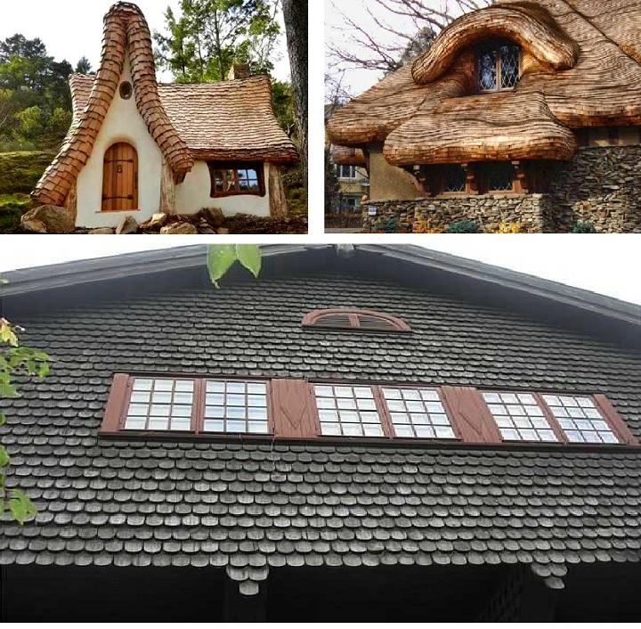 Деревянная кровля меняет внешний вид строения