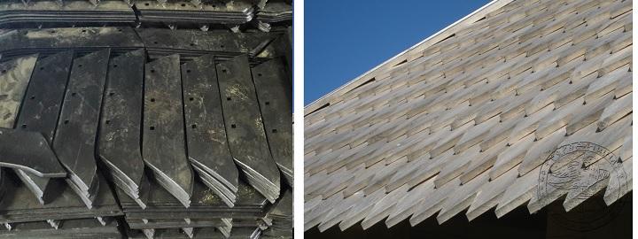 Покрытие для крыши - лемех