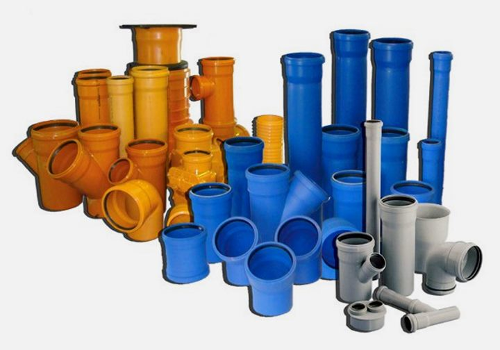 Отводы и трубы для внутренней и внешней канализации