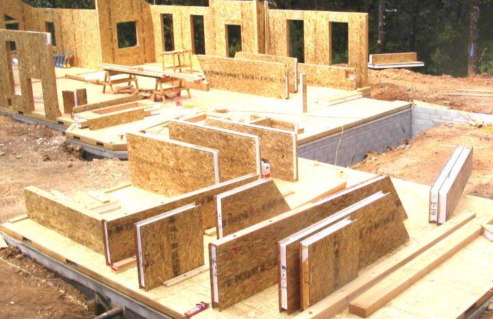 Набор для строительства дома из ДСП