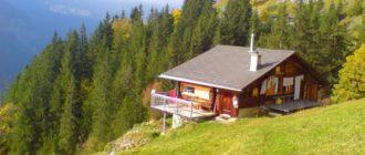 Дом в горах на заглубленном фундаменте