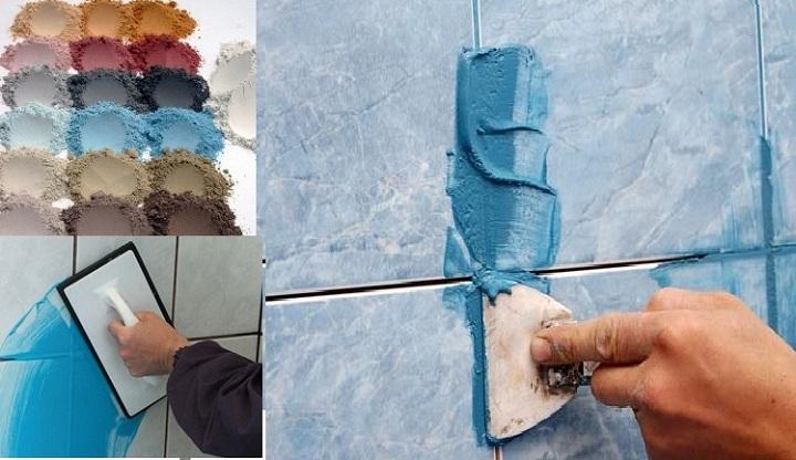 Цементная смесь для затирки швов