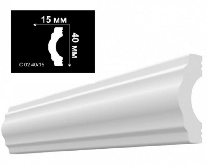 Потолочный плинтус из пенопласта