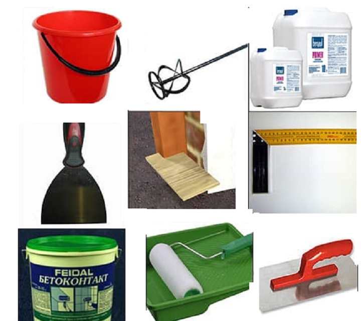Инструменты и материалы для работы со швами