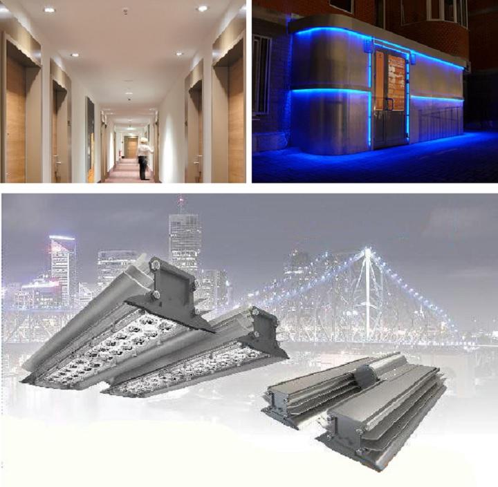 Где применяют светодиодные светильники