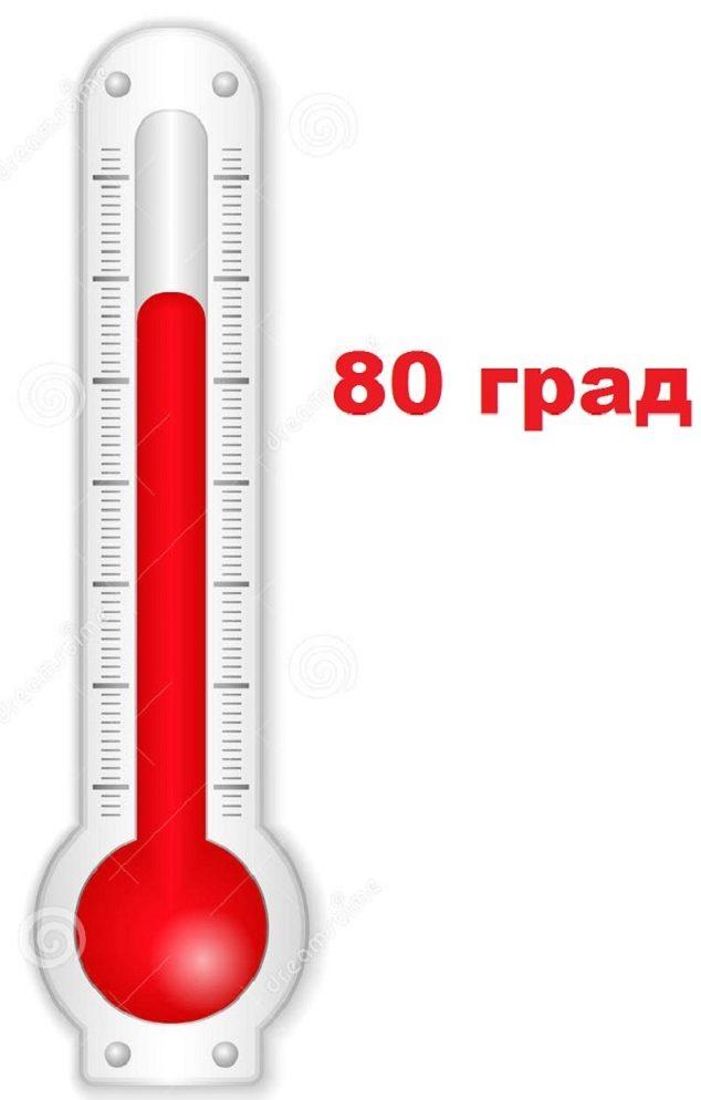 Максимальная температура прогрева