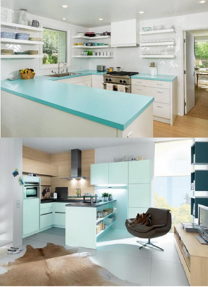 Два варианта дизайна кухни