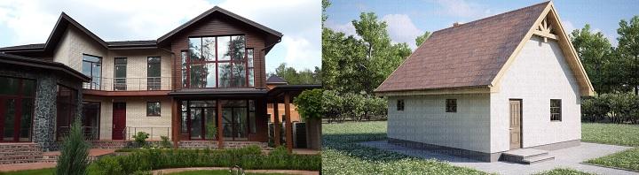 Полноценный дом или простенькая дачка