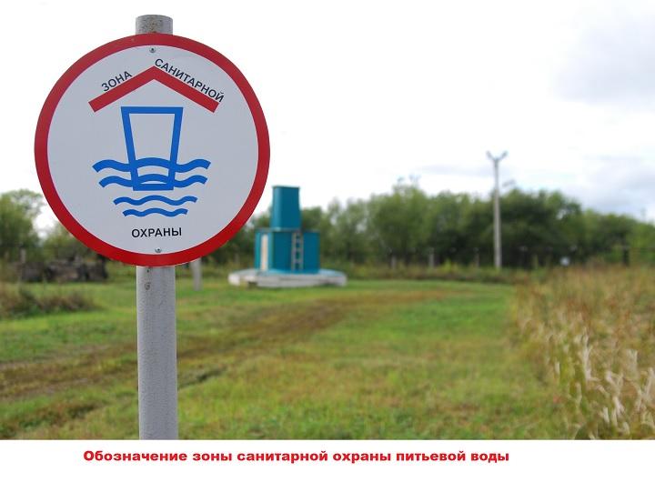 Знак охраны воды