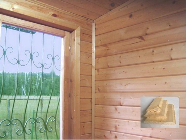 Внутренняя отделка каркасного дома имитацией бруса
