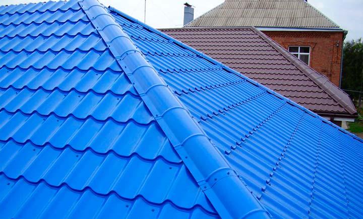 Протечка крыши из профнастила