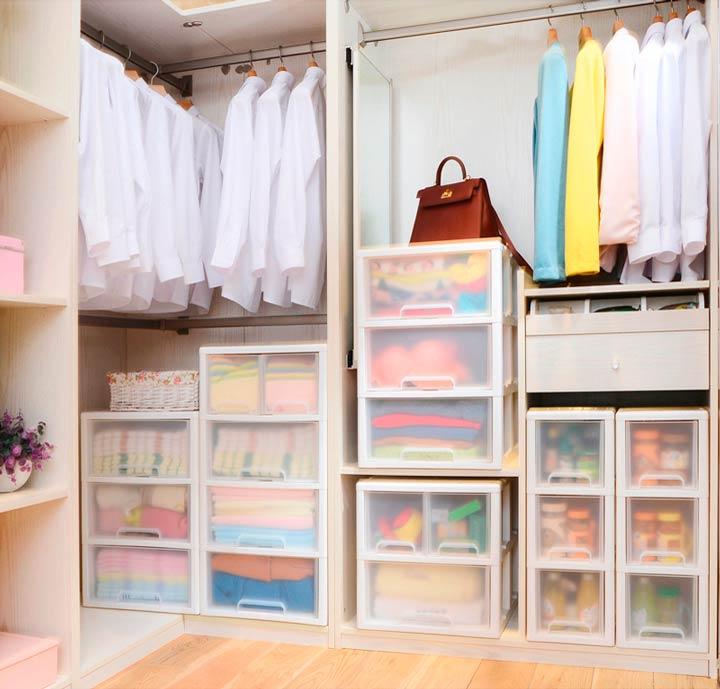 Отделка гардеробной комнаты в доме