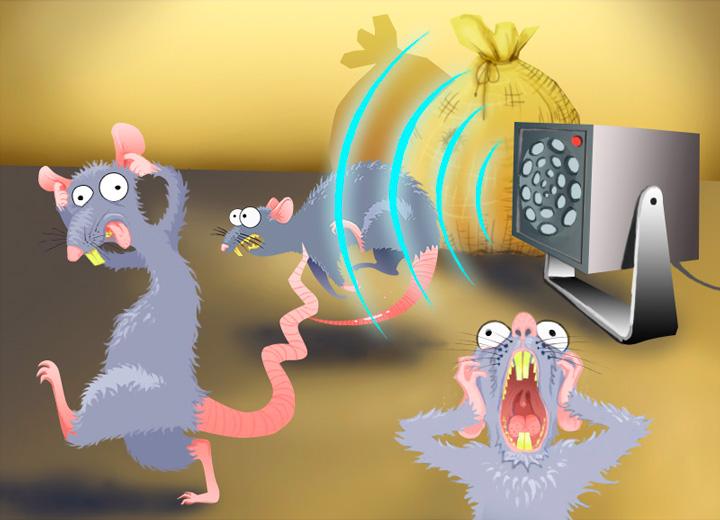 Отпугивание мышей