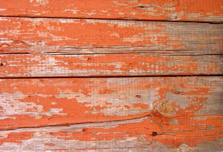 Деревянная поверхность со старой краской