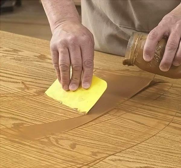 Подмазка поверхности