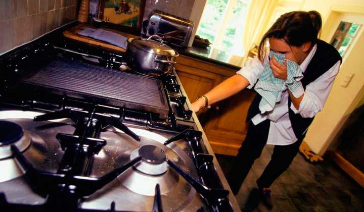 Запах тухлых яиц может означать утечку газа