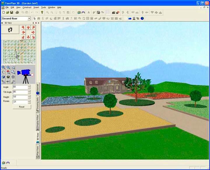 FloorPlan - одна из программ для создания дизайн-проекта дома