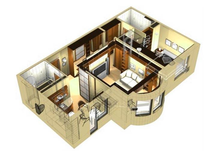 Создание дизайн-проект дома самостоятельно