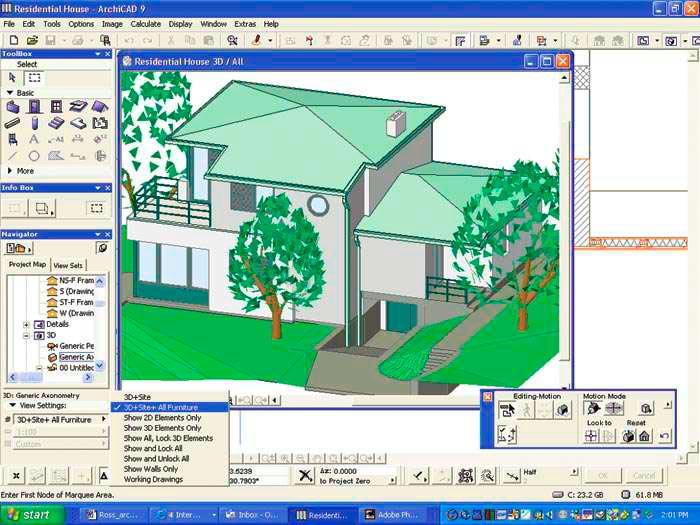 Программа для проектирования ArchiCAD