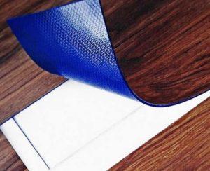 Синий слой под гибкой плиткой