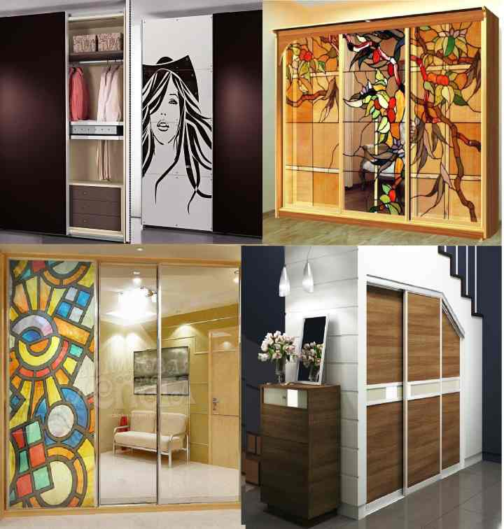 4 варианта декора двери