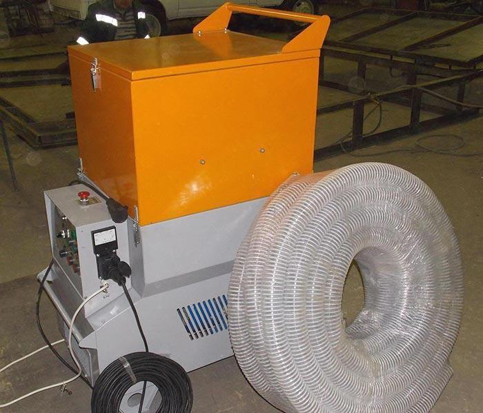 Аппарат для утепления эковатой