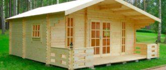Строительство дома из досок