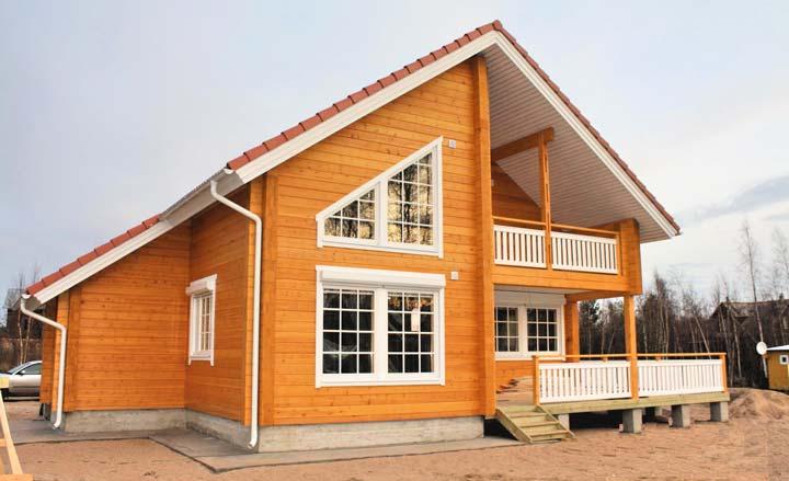 Характеристики каркасного дома