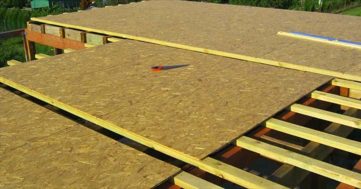 Основание крыши для мягкой кровли