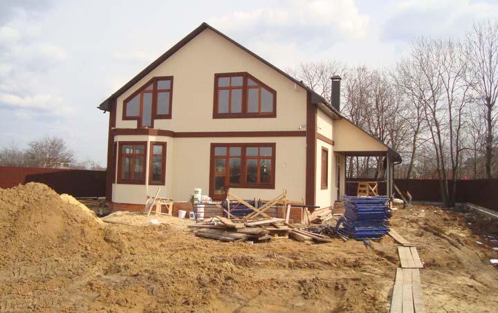 Строительство каркасного дома не зависит от сезона